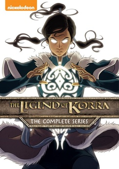 The Legend of Korra Complete Series DVD 032429253859