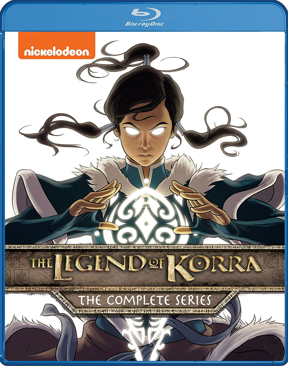 The Legend of Korra Complete Series Blu-ray 032429253873
