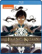 The Legend of Korra Complete Series Blu-ray