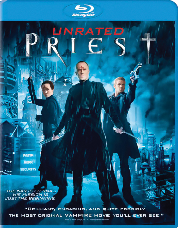 Priest Blu-ray (Unrated) 043396384231