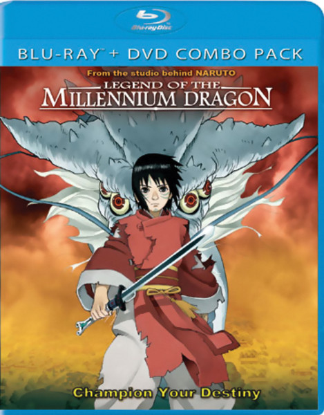 Legend of the Millennium Dragon Blu-ray/DVD