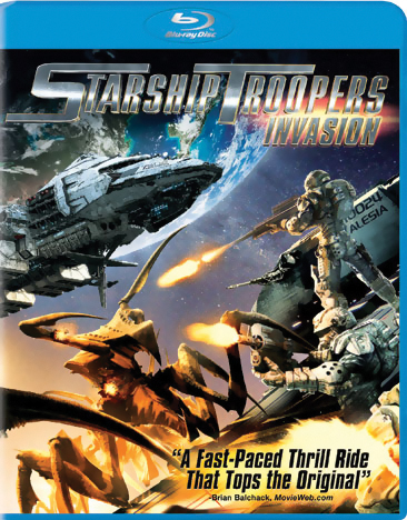 Starship Troopers Invasion Blu-ray 043396401037