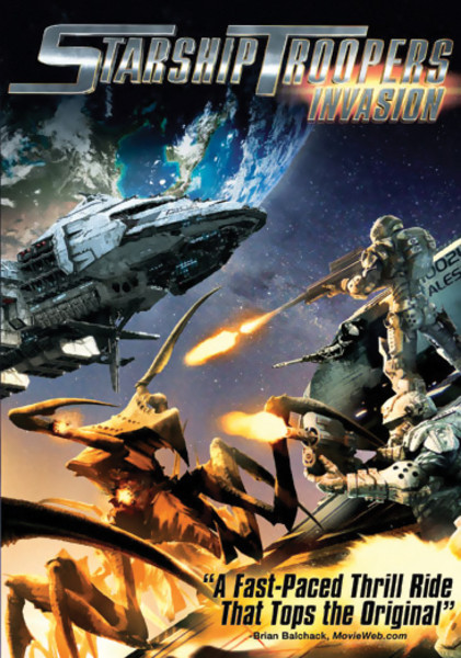 Starship Troopers Invasion DVD