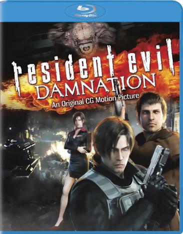 Resident Evil: Damnation Blu-ray 043396407534