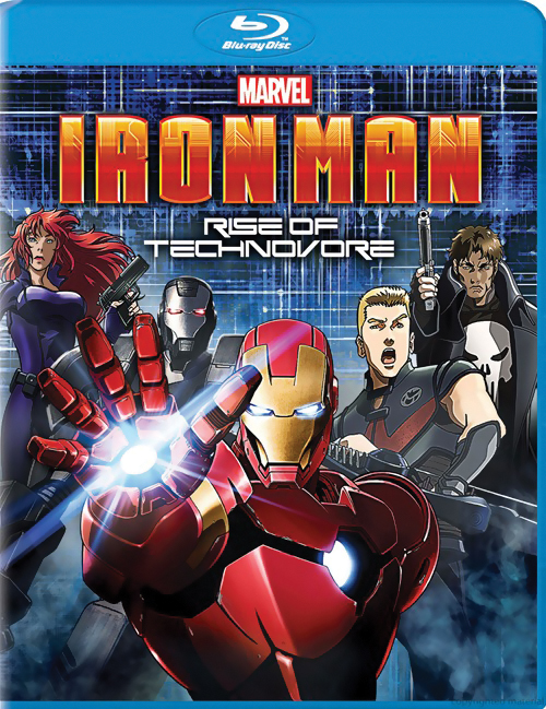 Iron Man Rise of the Technovore Blu-ray 043396419582