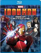 Iron Man Rise of the Technovore Blu-ray