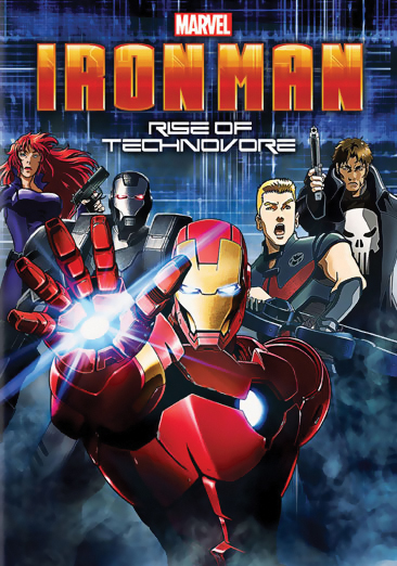 Iron Man: Rise of the Technovore DVD 043396419612