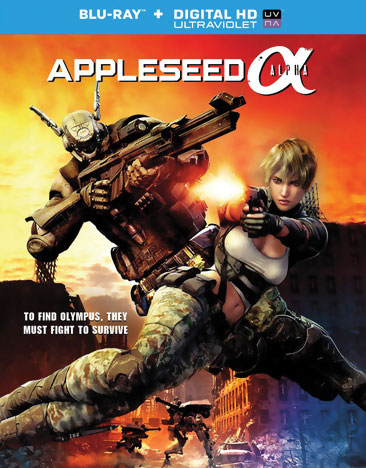 Appleseed Alpha Blu-ray 043396440067