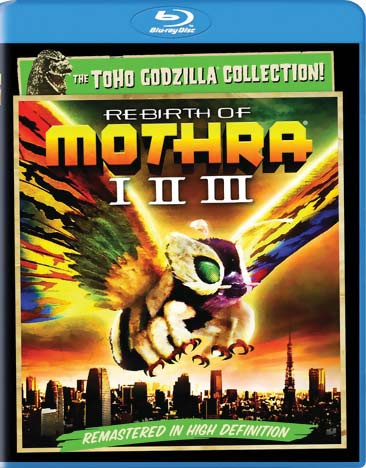 Rebirth of Mothra I-II-III Blu-ray 043396446595
