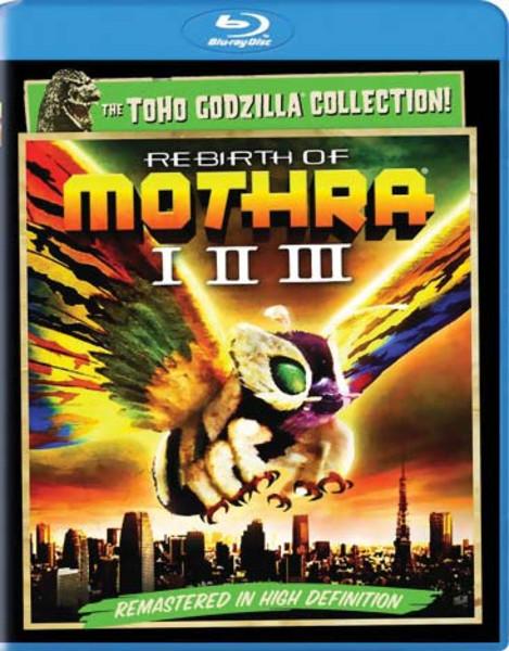 Rebirth of Mothra I-II-III Blu-ray