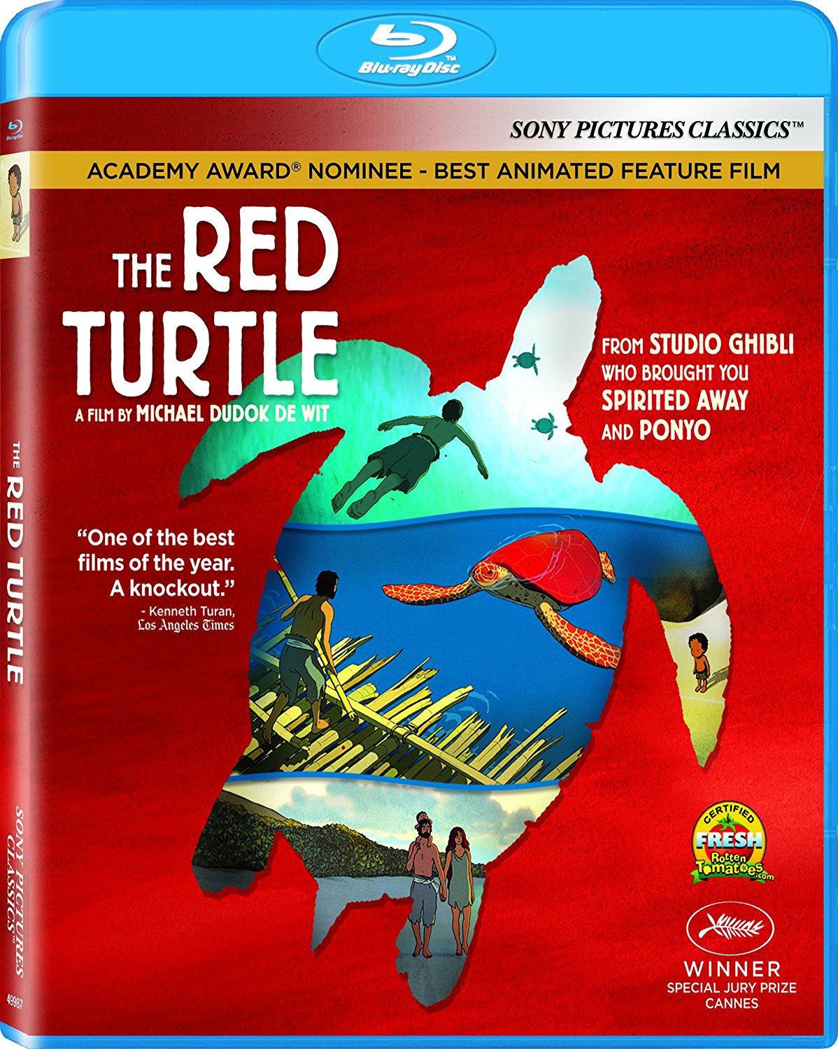 The Red Turtle Blu-ray 043396499874