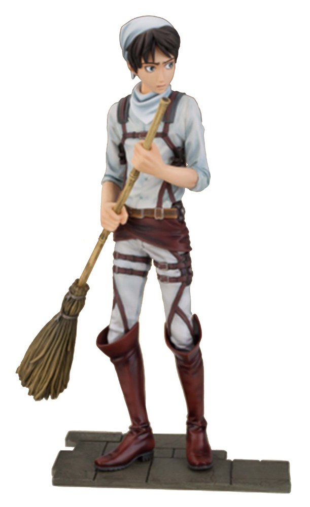 Eren Yaeger Attack on Titan DXF Figure 045557312824