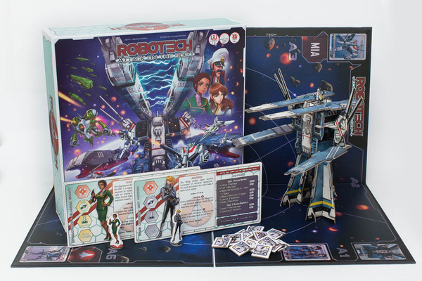 Robotech Attack on the SDF-1 Game