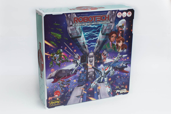 Robotech Attack on the SDF-1 Board Game