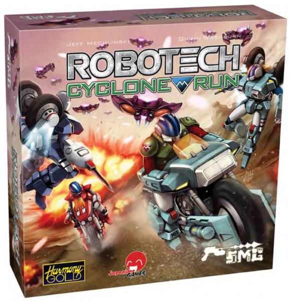 Robotech Cyclone Run Game