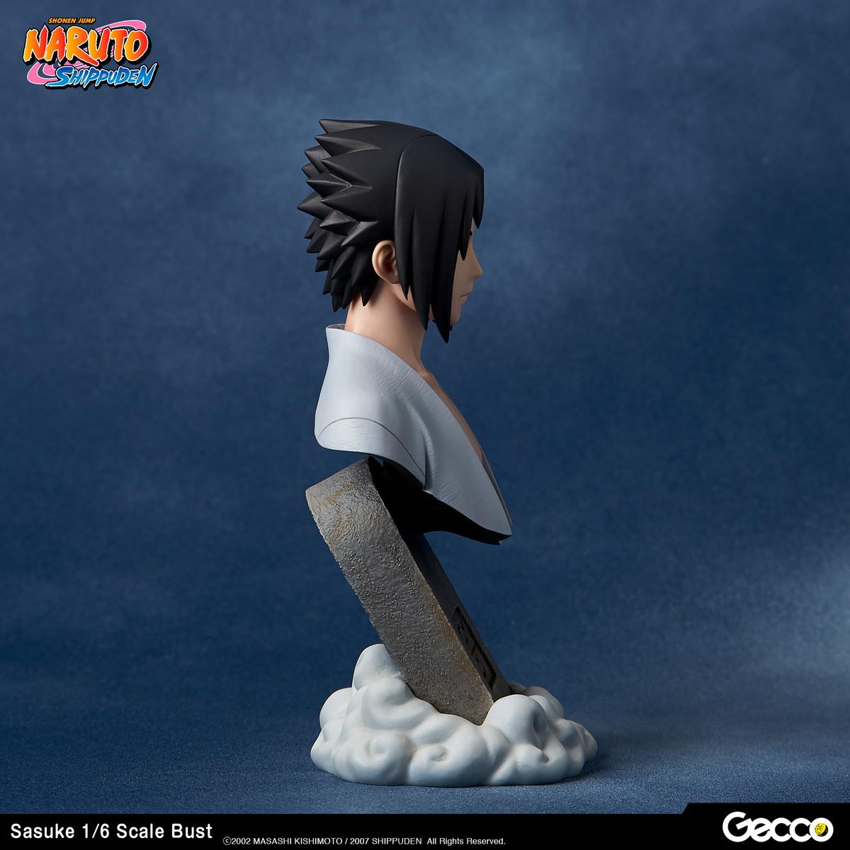 Sasuke Uchiha Naruto Shippuden Bust Figure