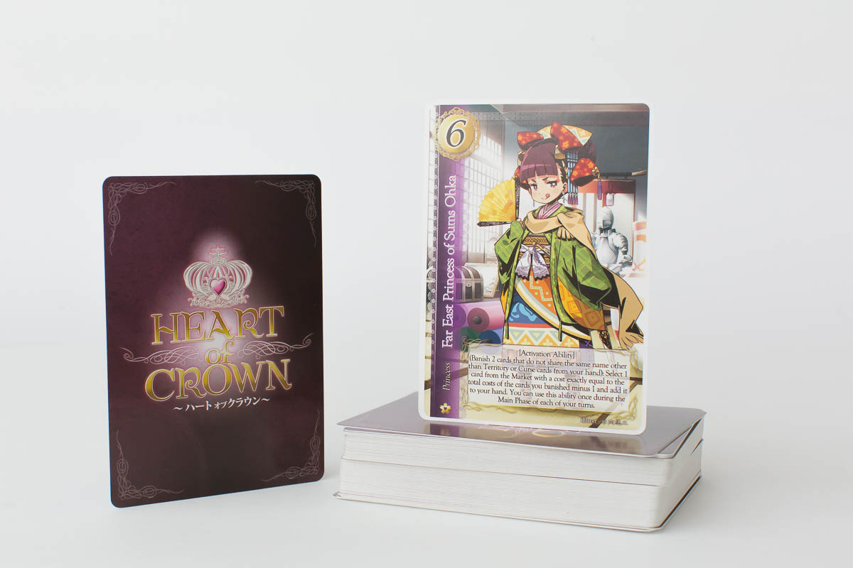 Heart of Crown Far East Territory Expansion Game
