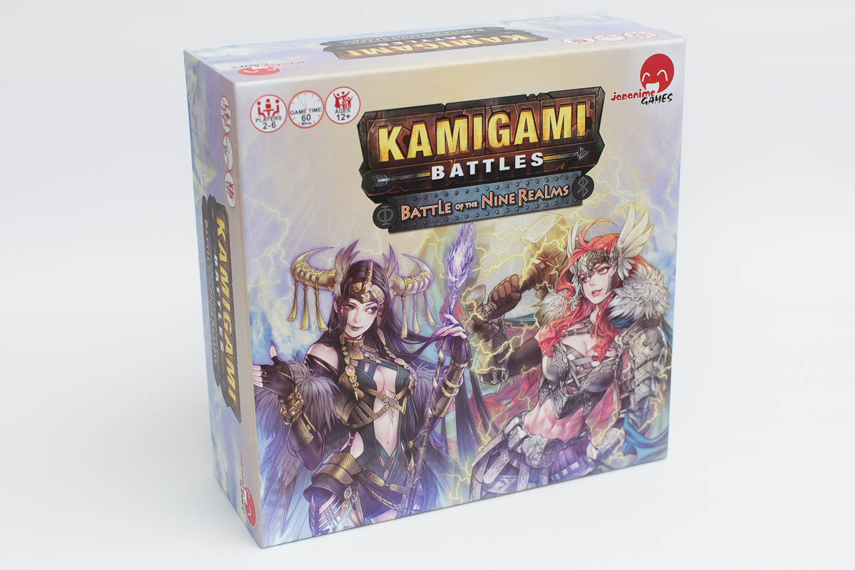 Kamigami Battles Battle of the Nine Realms Game