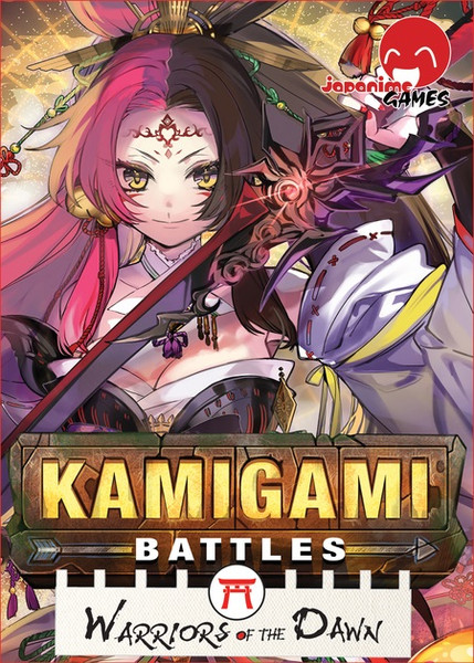 Kamigami Battles Warriors of the Dawn Expansion Game