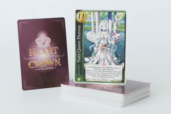 Heart of Crown Fairy Garden Game