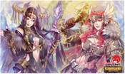 Thor and Loki Kamigami Battles Playmat