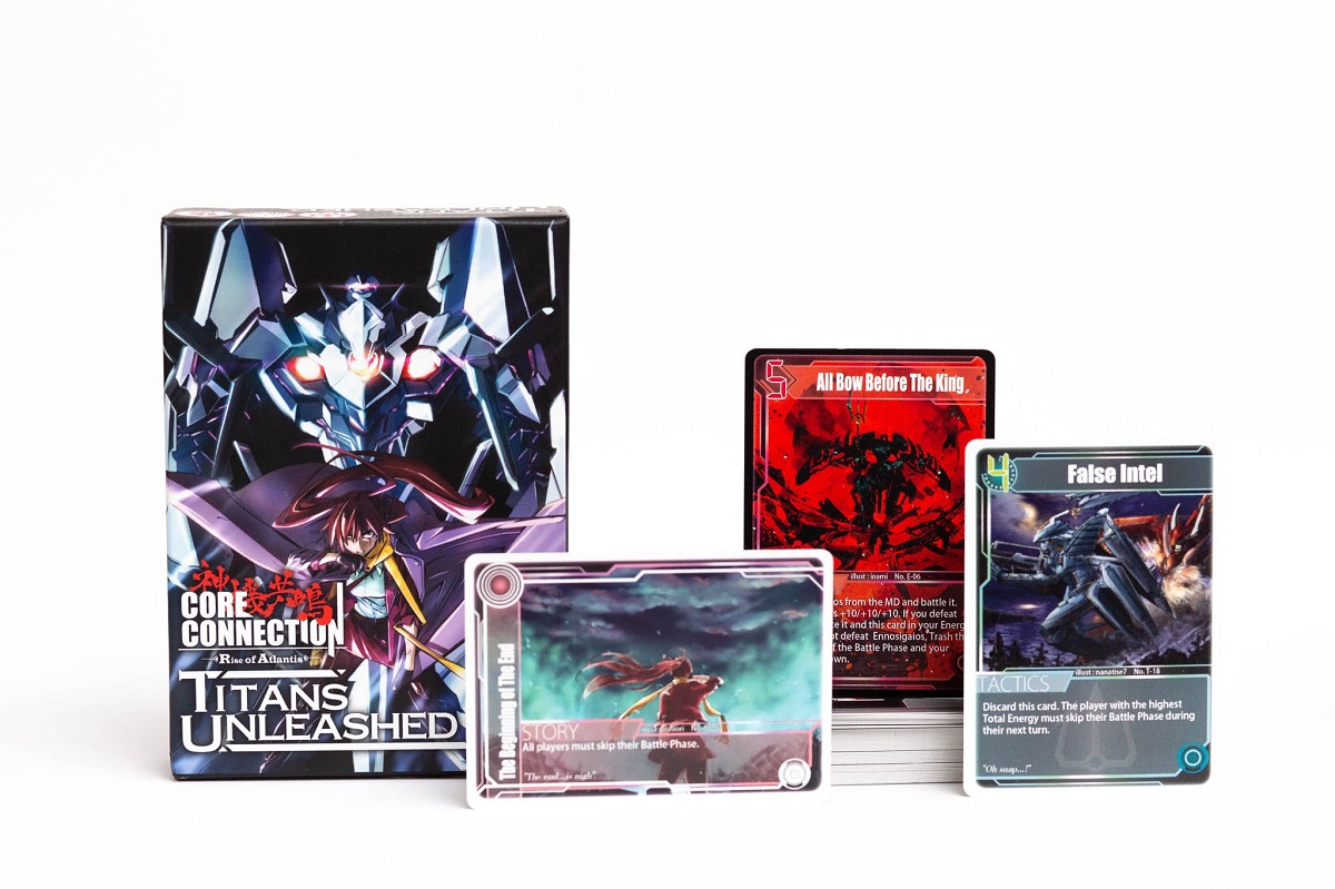 Core Connection Titans Unleashed Expansion Game