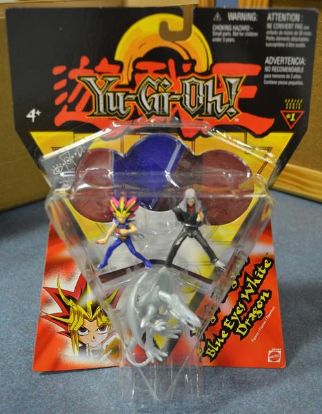 Yugi/Pegasus/Blue Eyes White Dragon Yu-Gi-Oh! Figure 3 Pack