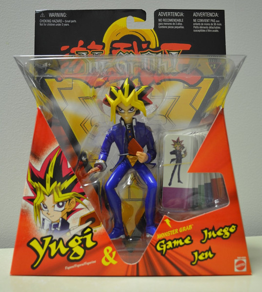 Card Dealing Yugi With Yugi Tiles Yu-Gi-Oh! Action Figure