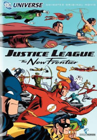 Justice League: The New Frontier DVD 085391108177