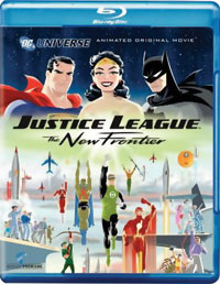 Justice League: The New Frontier Blu-ray 085391171645