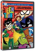 Teen Titans Season 4 DVD