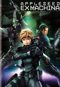 Appleseed Ex Machina DVD 085391200642