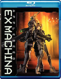 Appleseed Ex Machina Blu-ray 085391200666