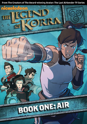 The Legend of Korra Book 1 Air DVD 097368914940