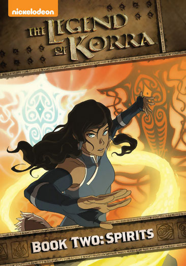 The Legend of Korra Book 2 Spirits DVD 097368992344