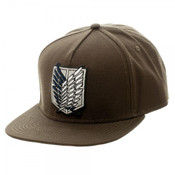 Scout Attack On Titan Canvas Snapback Hat