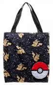 Pokeball to Pikachu Pokemon Collapsible Tote Bag