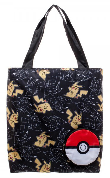 Pikachu Pokemon Packable Tote