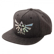 Legend of Zelda Iridescent Woven Fabric Snapback Hat