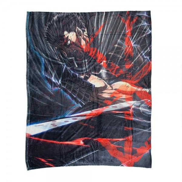 Guts Berserk Throw Blanket