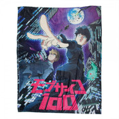 Key Art Mob Psycho 100 Throw Blanket