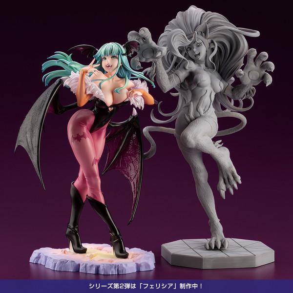 Morrigan Aensland Darkstalkers Bishoujo Statue Figure