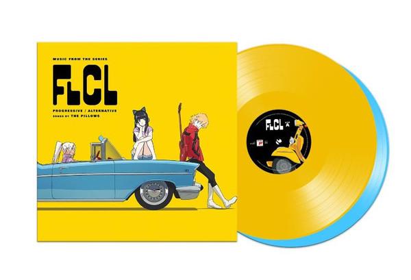 FLCL Progressive Alternative Vinyl Soundtrack