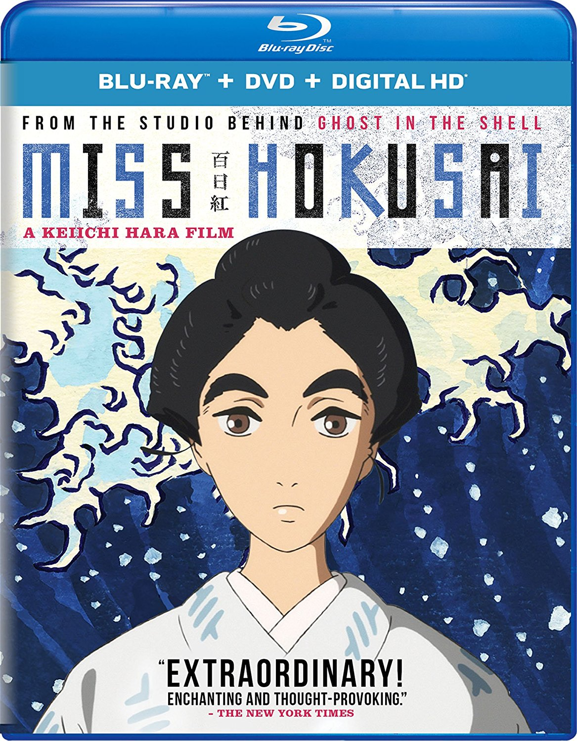 Miss Hokusai Blu-ray/DVD + UV 191329003039