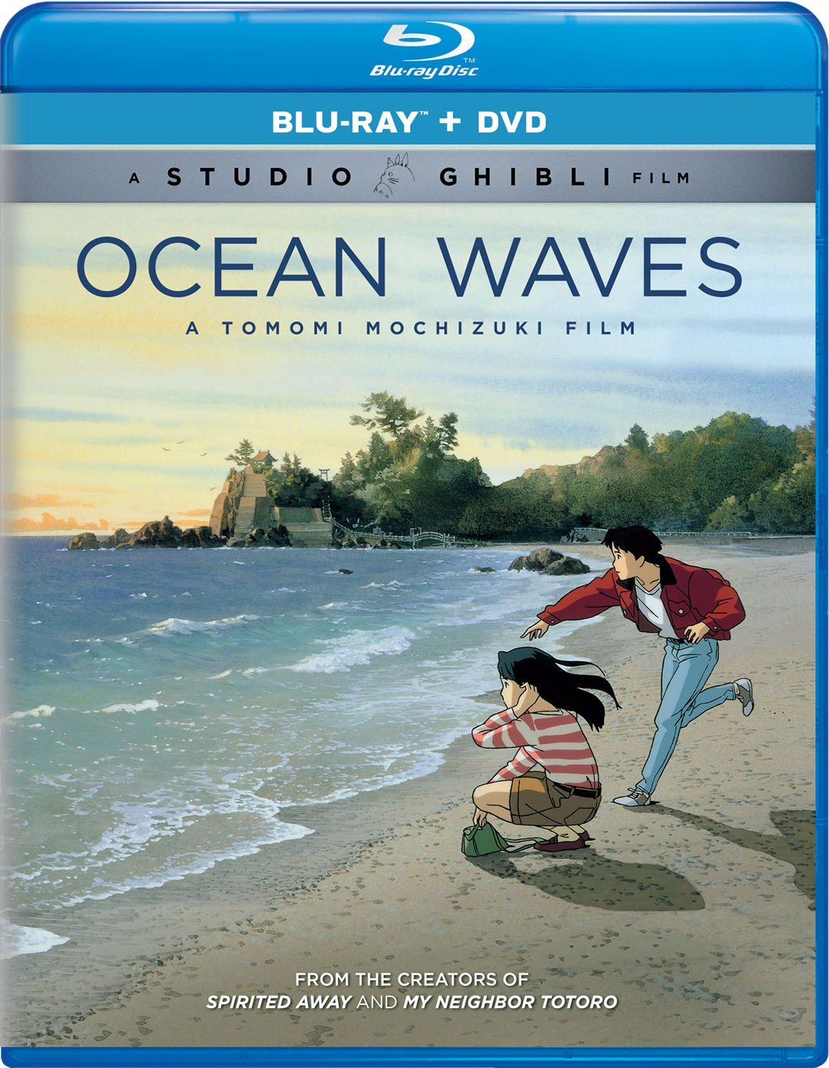 Ocean Waves Blu-ray/DVD 191329017104