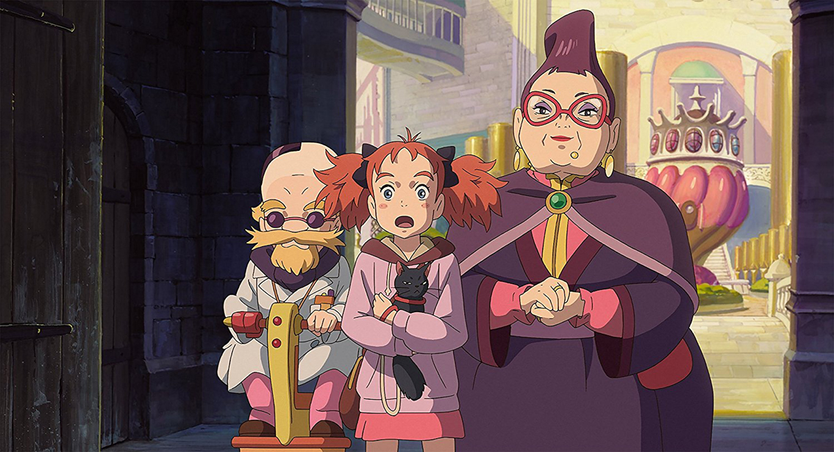 Mary and The Witch's Flower Blu-ray/DVD