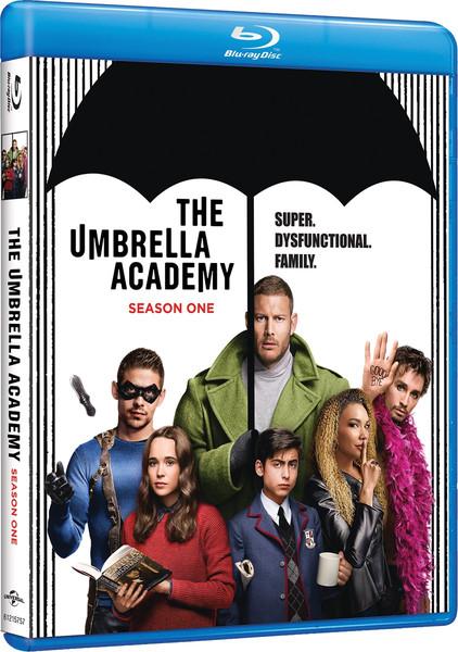 The Umbrella Academy Season 1 Blu-ray