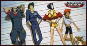 The 5 Suspects Cowboy Bebop Playmat