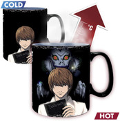 Kira & L Death Note Heat Changing Mug