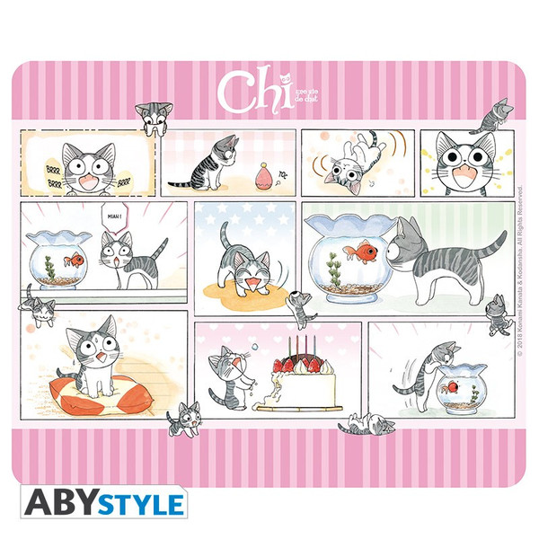 Chi's Day Chi's Sweet Home Mousepad